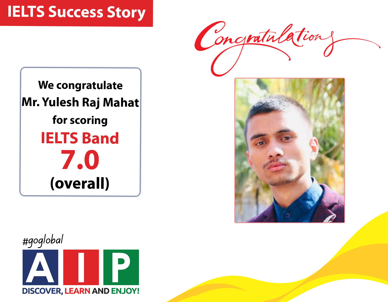 IELTS Success Story-Yulesh