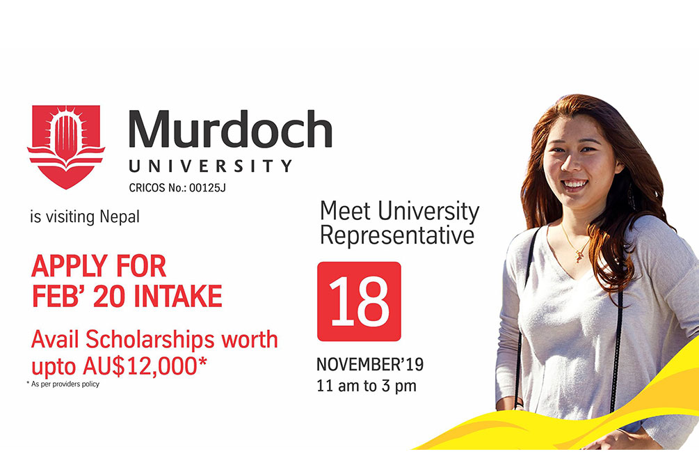 Murdoch University is visiting Nepal