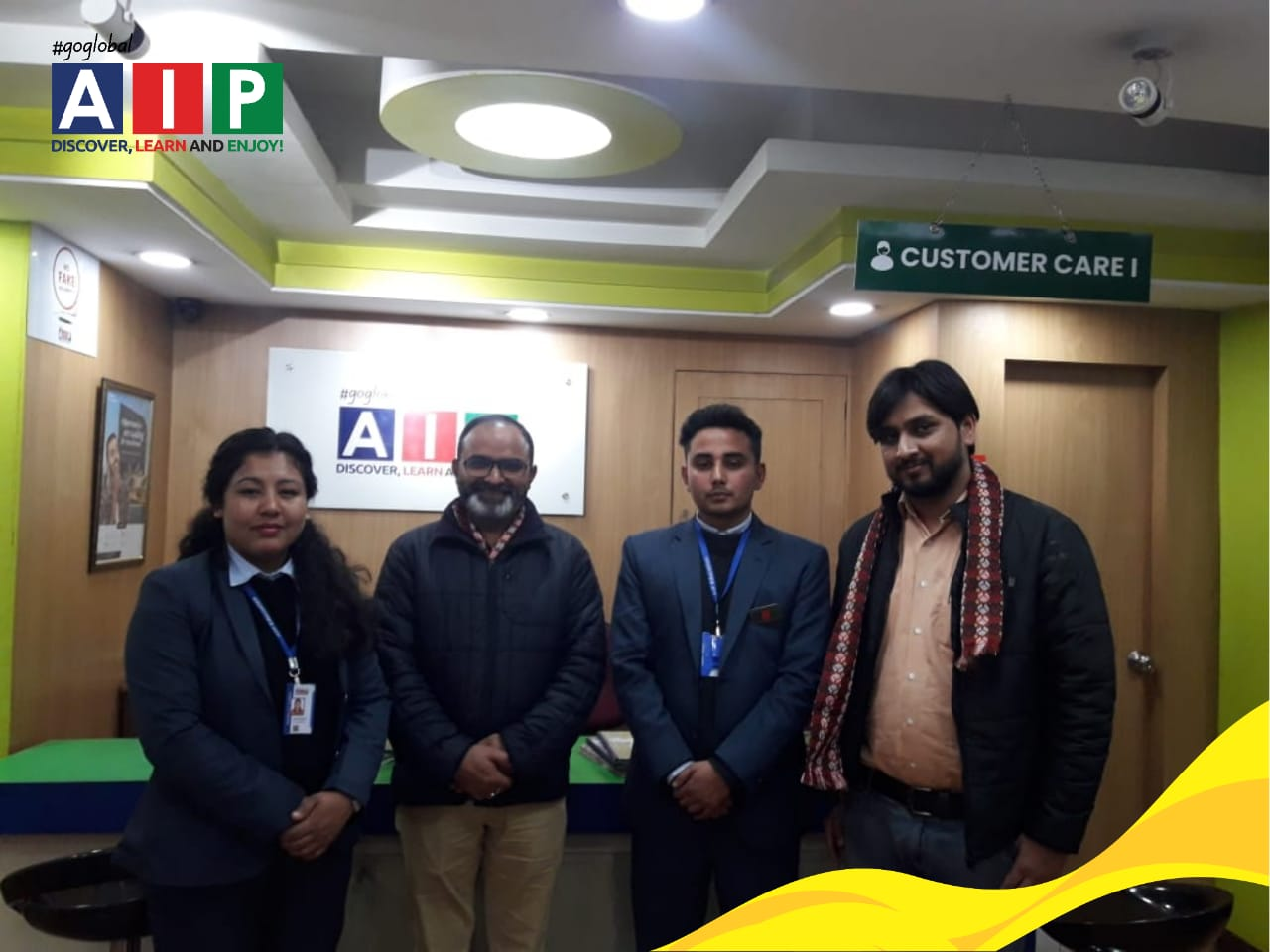 Workshop conducted on PTE by Pearson team at AIP Education, Test Preparation Block (Block B)