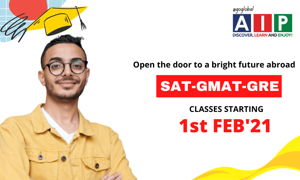 A New Year, A Fresh Start SAT, GMAT and GRE classes from 1st February