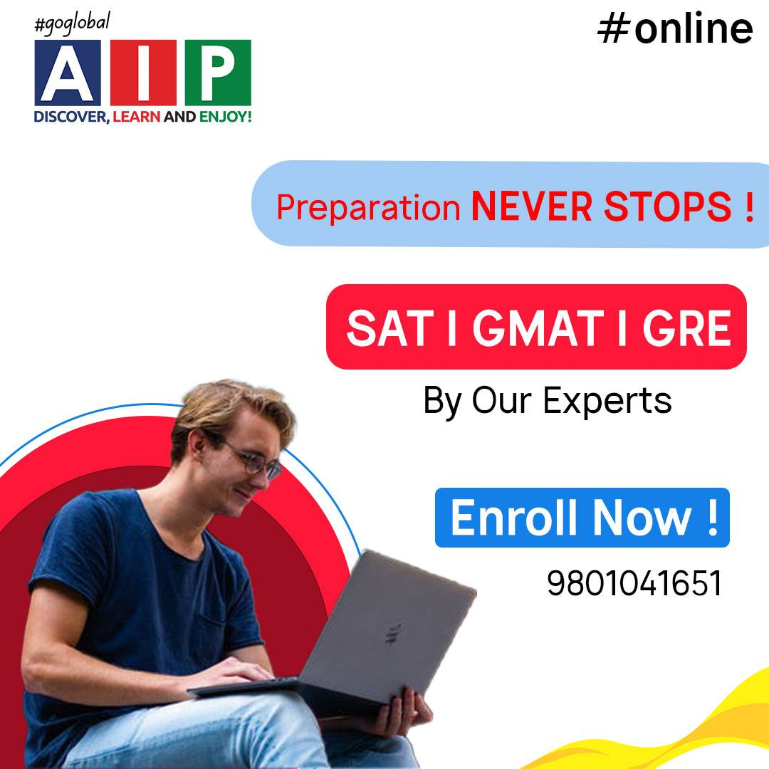 Online IELTS, GMAT, GRE, SAT classes at AIP Education,New Baneshor Kathmandu