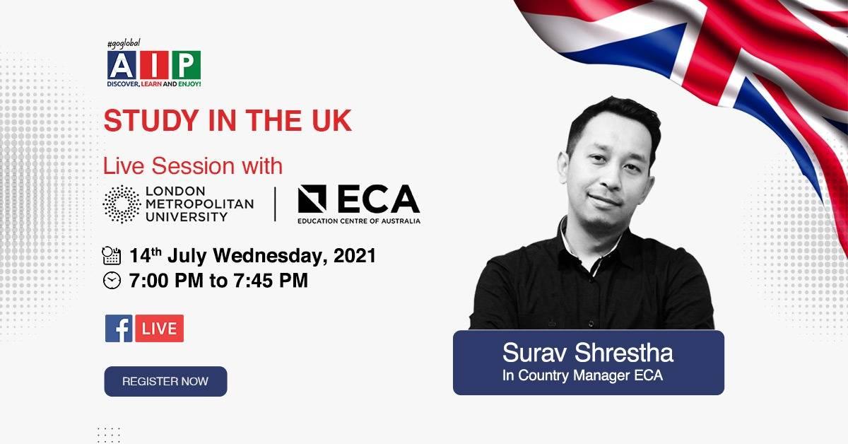 Facebook Live Information Session with London Met University- ECA