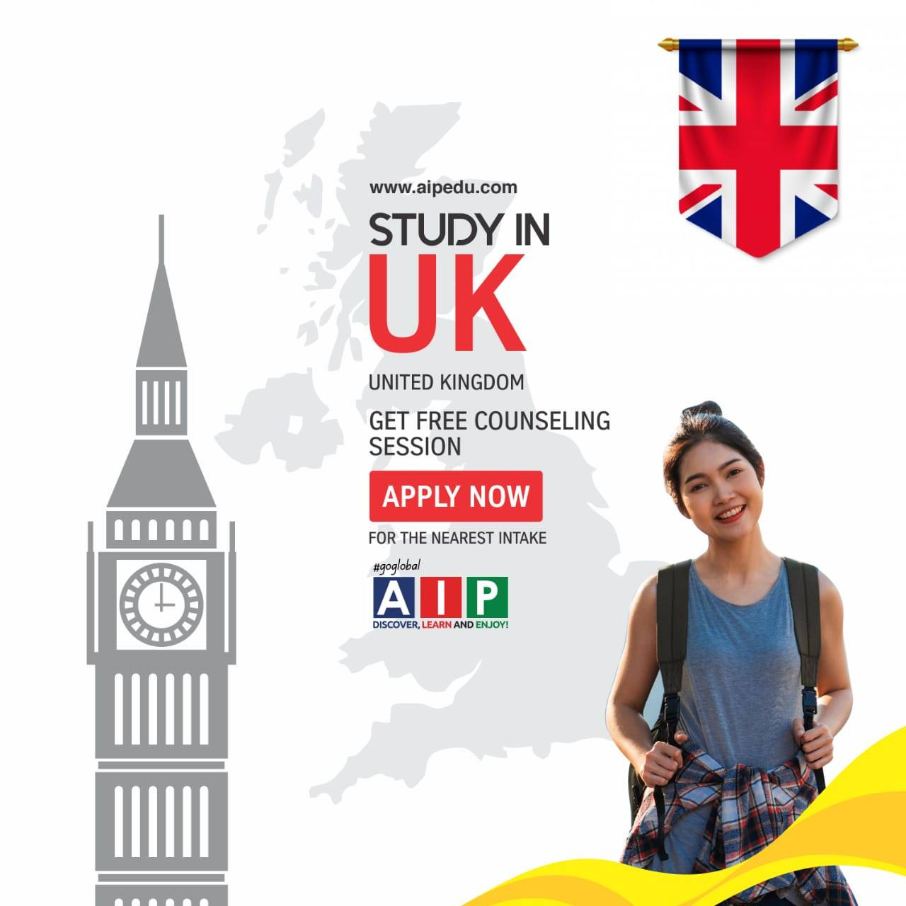 Study In The UK from Nepal without IELTS